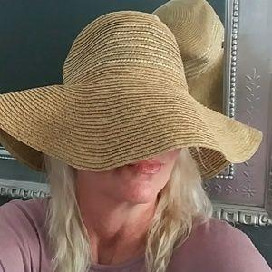 John Deere Floppy Beige Sun Hat